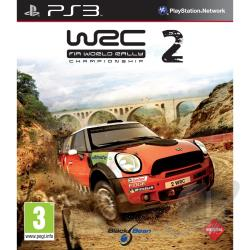 WRC 2: FIA World Rally Championship PS3 Cover Art