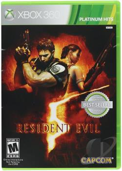 Resident Evil 5 XB360 Cover Art