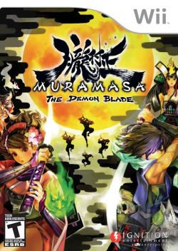 Muramasa: The Demon Blade WII Cover Art