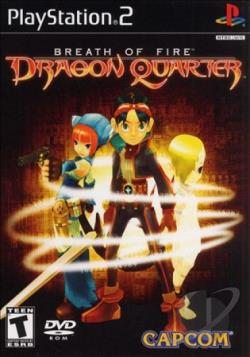 Breath of Fire: Dragon Quarter PS2 Cover Art