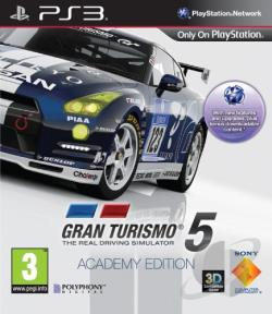 Gran Turismo 5: Academy Edition PS3 Cover Art
