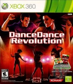 Dance Dance Revolution XB360 Cover Art