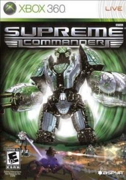 Supreme Commander XB360 Cover Art