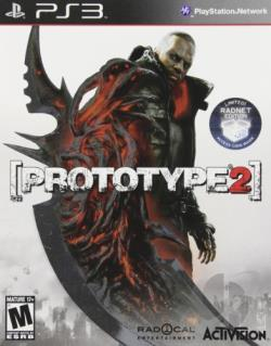 Prototype 2: Radnet Edition PS3 Cover Art