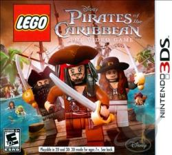 LEGO Pirates of the Caribbean: The Video Game 3DS Cover Art