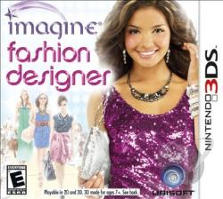 Imagine: Fashion Designer 3DS Cover Art