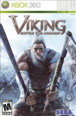 Viking: Battle for Asgard XB360 Cover Art