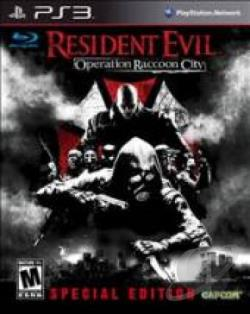 Resident Evil: Operation Raccoon City PS3 Cover Art