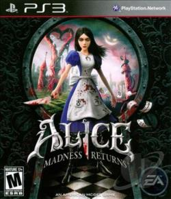 Alice: Madness Returns PS3 Cover Art