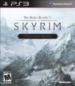 Elder Scrolls V : Skyrim PS3 Cover Art