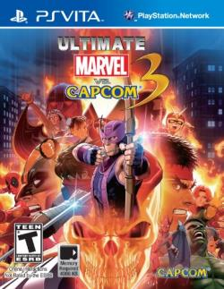 Ultimate Marvel vs. Capcom 3 PSV Cover Art