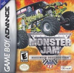 Monster Jam: Maximum Destruction GBA Cover Art