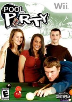 Pool Party W/Cue Stick WII Cover Art