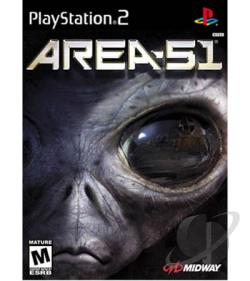 Area 51 PS2 Cover Art