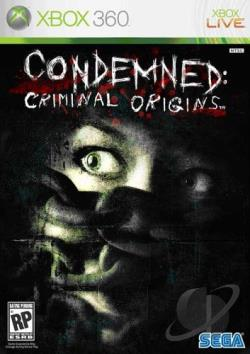 Condemned: Criminal Origins XB360 Cover Art