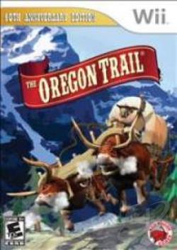 Oregon Trail WII Cover Art