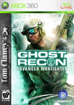 Tom Clancy's Ghost Recon: Advanced Warfighter XB360 Cover Art