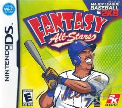 Major League Baseball 2K8 Fantasy All-Stars NDS Cover Art