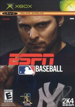 ESPN Major League Baseball XB Cover Art