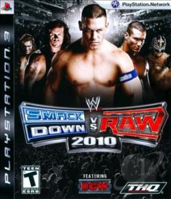 WWE SmackDown vs. Raw 2010 Featuring ECW PS3 Cover Art