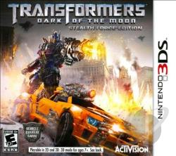 Transformers: Dark of the Moon 3DS Cover Art
