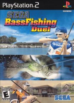 Sega Bass Fishing Duel PS2 Cover Art