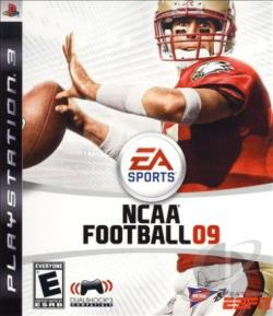 NCAA Football 09 PS3 Cover Art