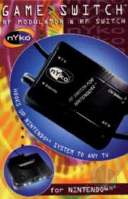 GC/N64 RF Adapter GQ Cover Art