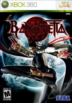 Bayonetta XB360 Cover Art