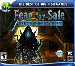 Fear for Sale: Mystery of McInroy Manor PCG Cover Art