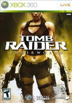 Tomb Raider: Underworld XB360 Cover Art
