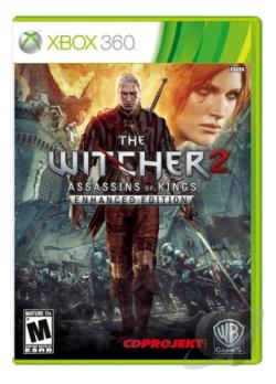 Witcher 2: Assassins of Kings XB360 Cover Art
