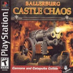 Ballerburg: Castle Chaos PS Cover Art
