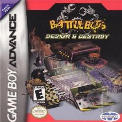 BattleBots: Design & Destroy! GBA Cover Art