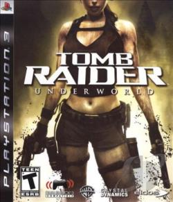 Tomb Raider: Underworld PS3 Cover Art