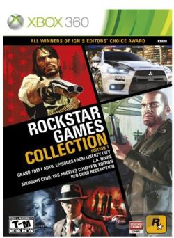 Rockstar Games Collection: Edition 1 XB360 Cover Art