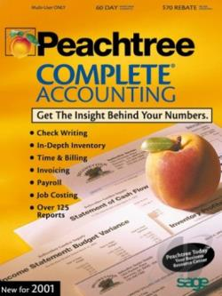 Peachtree Complete Accounting 8.0 W98 Cover Art