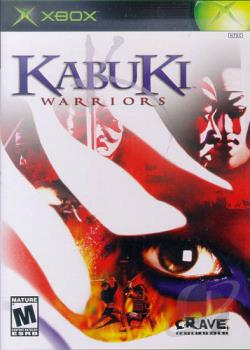 Kabuki Warriors XB Cover Art