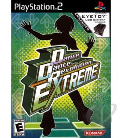 Dance Dance Revolution Extreme PS2 Cover Art