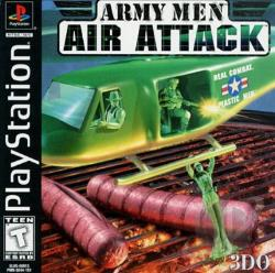 Army Men: Air Attack PS Cover Art