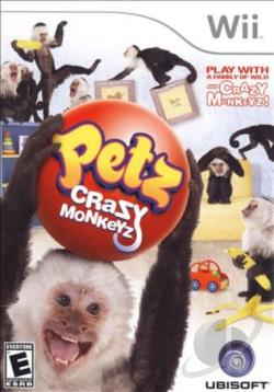 Petz: Crazy Monkeyz WII Cover Art
