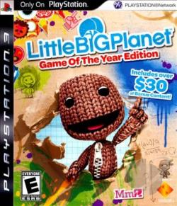 LittleBigPlanet - Game of the Year Edition PS3 Cover Art