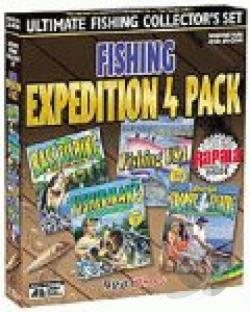 Fishing Expedition Collectors Pack W98! CDR Cover Art