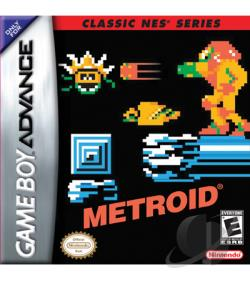 Metroid GBA Cover Art