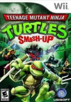 Teenage Mutant Ninja Turtles: Smash-Up WII Cover Art