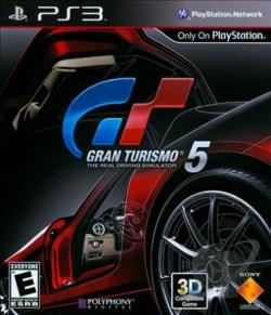Gran Turismo 5 PS3 Cover Art