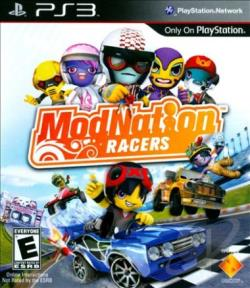 ModNation Racers PS3 Cover Art