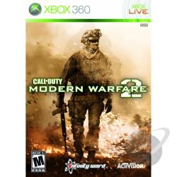 Call of Duty: Modern Warfare 2 XB360 Cover Art