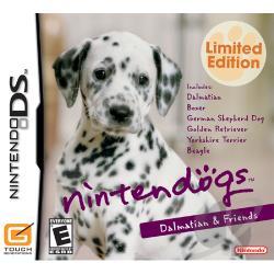 Nintendogs: Dalmatian & Friends NDS Cover Art