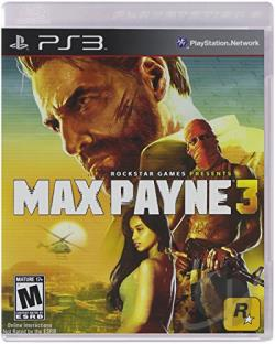 Max Payne 3 PS3 Cover Art